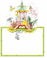 Garden Party Decorations Follies Placecard