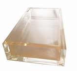 Hand Towel Holder Lucite