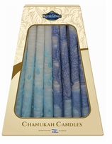 Hanukkah Candles Blue