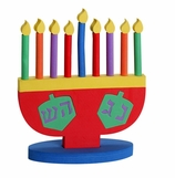 Hanukkah Decorations Toy Menorah
