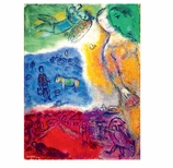 Holiday Cards Chagall