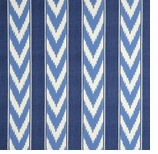 Ikat Blue Stripe Swatch