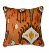 Ikat Pillows Cinnamon without Insert
