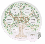 Jewish Home Decorations Tree of Life Seder Plate