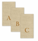 Jute Personalized Hand Towels