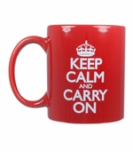 Keep Calm and Carry On Cups and Mugs