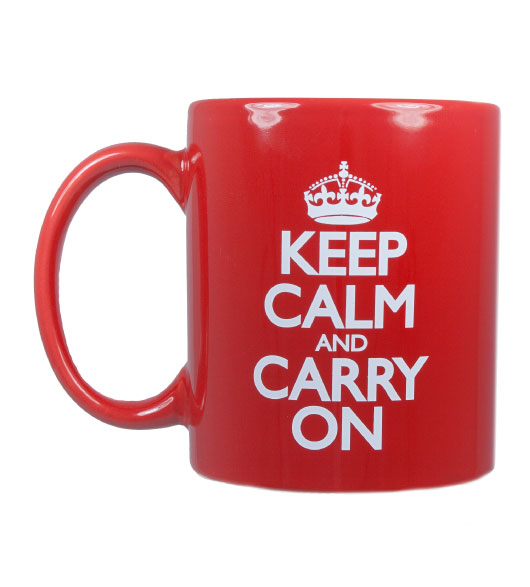 Title Keep Calm And Carry On Cups And Mugs