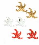 Kenneth Lane Starfish Earrings