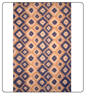 Kitchen Rugs Ikat