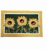 Kitchen Rugs Sunflower