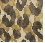 Leopard Print Fabric Brown Animal