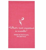 Little Prince Hand Towels Pink