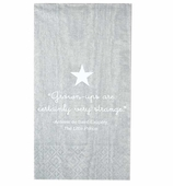 Little Prince Hand Towels Silver