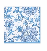 Lunch Napkins Block Blue