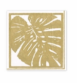 Lunch Napkins Gold Palm