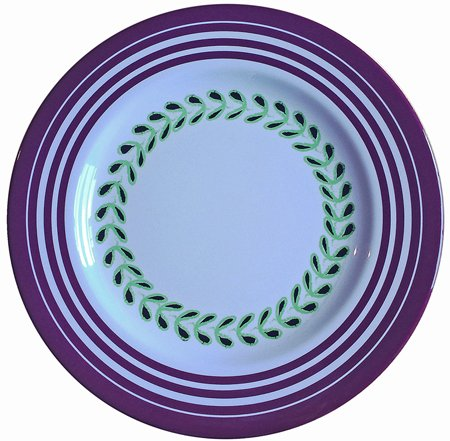 melamine dinner plates purple - Melamine Dinner Plates