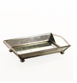 Mirrored Bath Accessories Vanity Tray