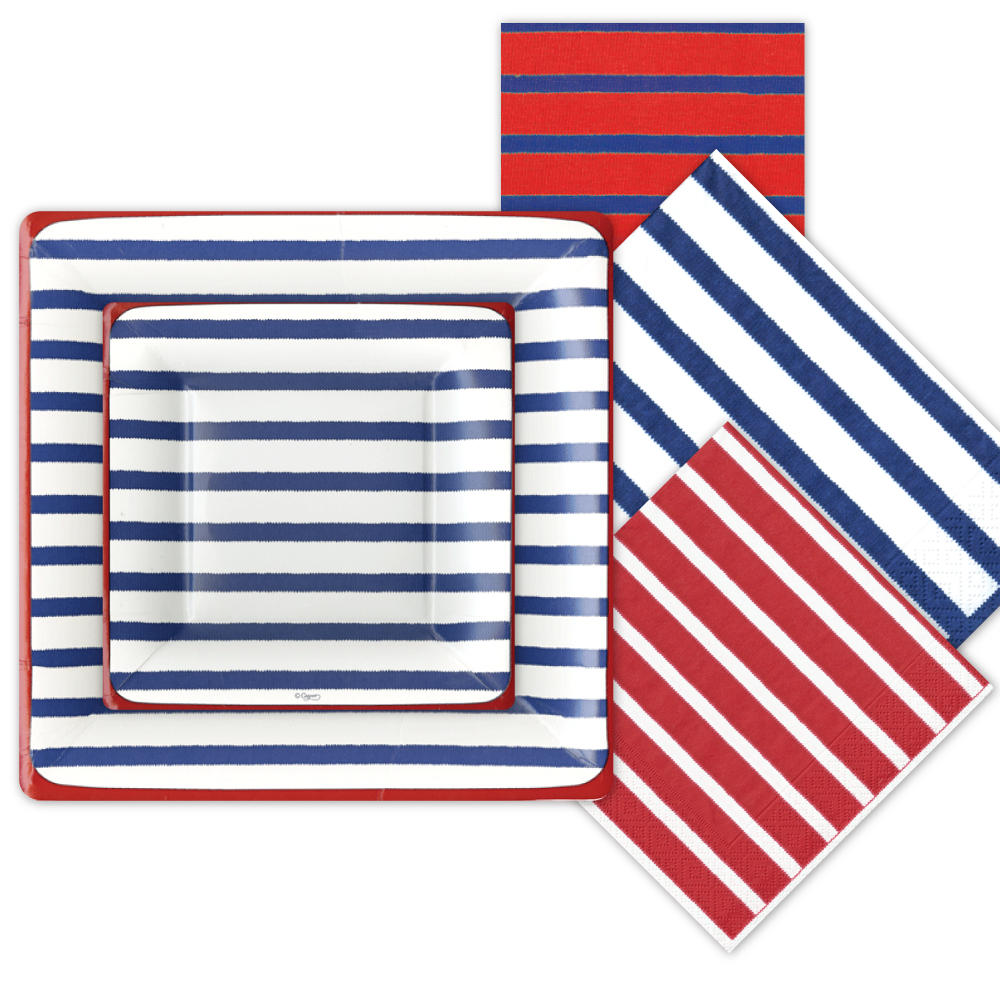 nautical paper plates Buy melamine dinner plates products like cayman melamine dinner plate with a rope rim decal bringing a touch of nautical style to the table.