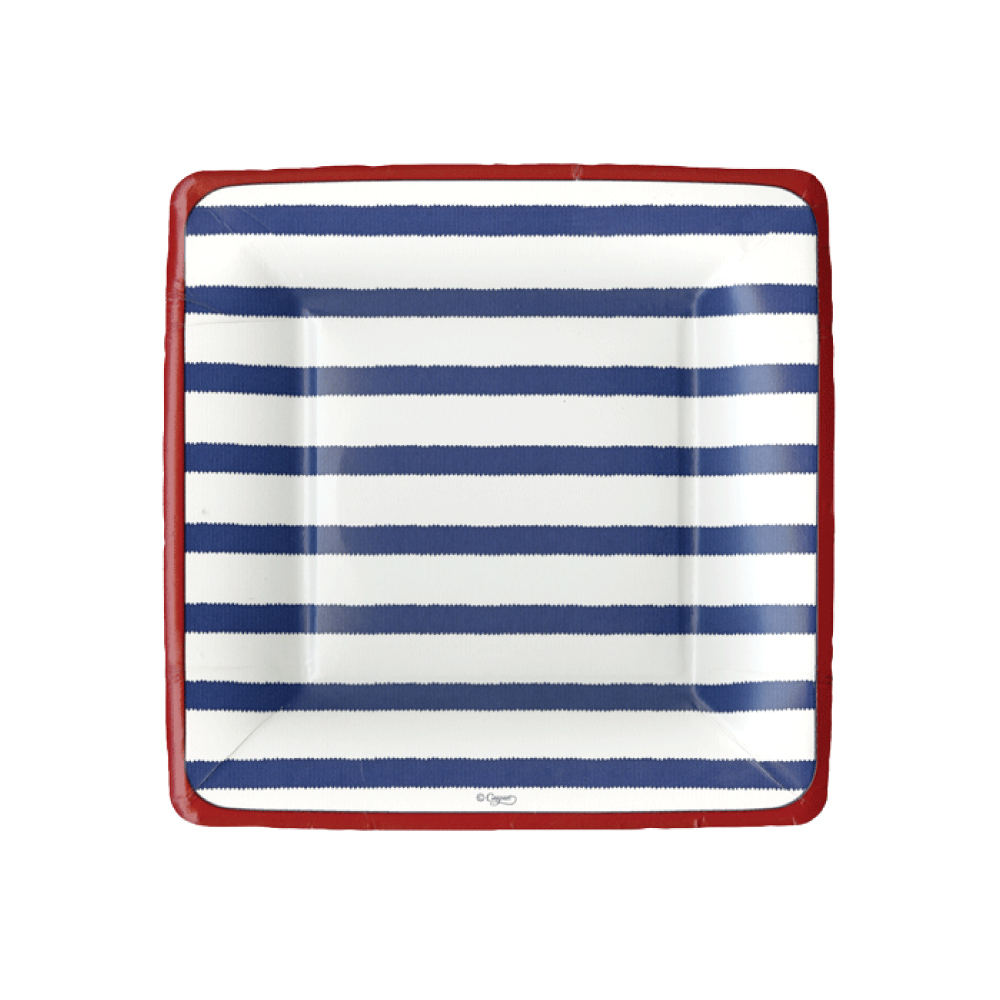 Nautical Paper Plates and Napkins & Fourth of July Too