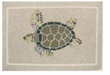 Nautical Rugs 2x3 Turtle