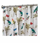 Nautical Shower Curtains Birds 96""