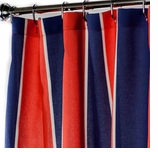 Nautical Shower Curtains Cabana 96""