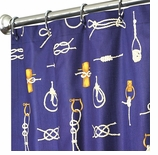 Nautical Shower Curtains Knot 72""