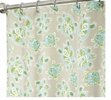 Nautical Shower Curtains Turtle 96""