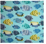 Outdoor Fabrics Beach Fish Swatch