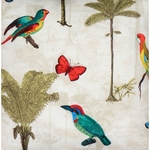 Outdoor Fabrics Palms & Birds Swatch