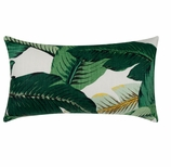 Outdoor Pillow Covers Palm Rectangle
