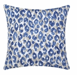 Outdoor Throw Pillows Blue Animal