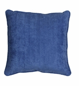 Outdoor Throw Pillows Blue without Insert