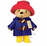 Paddington Bear Yellow Boots