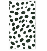 Paper Hand Towels Black Dots