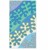 Paper Hand Towels Blue Abstract