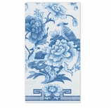 Paper Hand Towels Blue and White