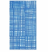 Paper Hand Towels Blue Plaid Pk 15