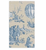 Paper Hand Towels Blue  Toile