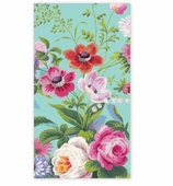 Paper Hand Towels Garden Blue