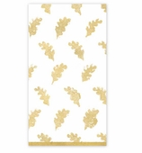 Paper Hand Towels Gold Leaves
