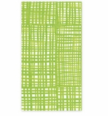 Paper Hand Towels Green Plaid Pk 15