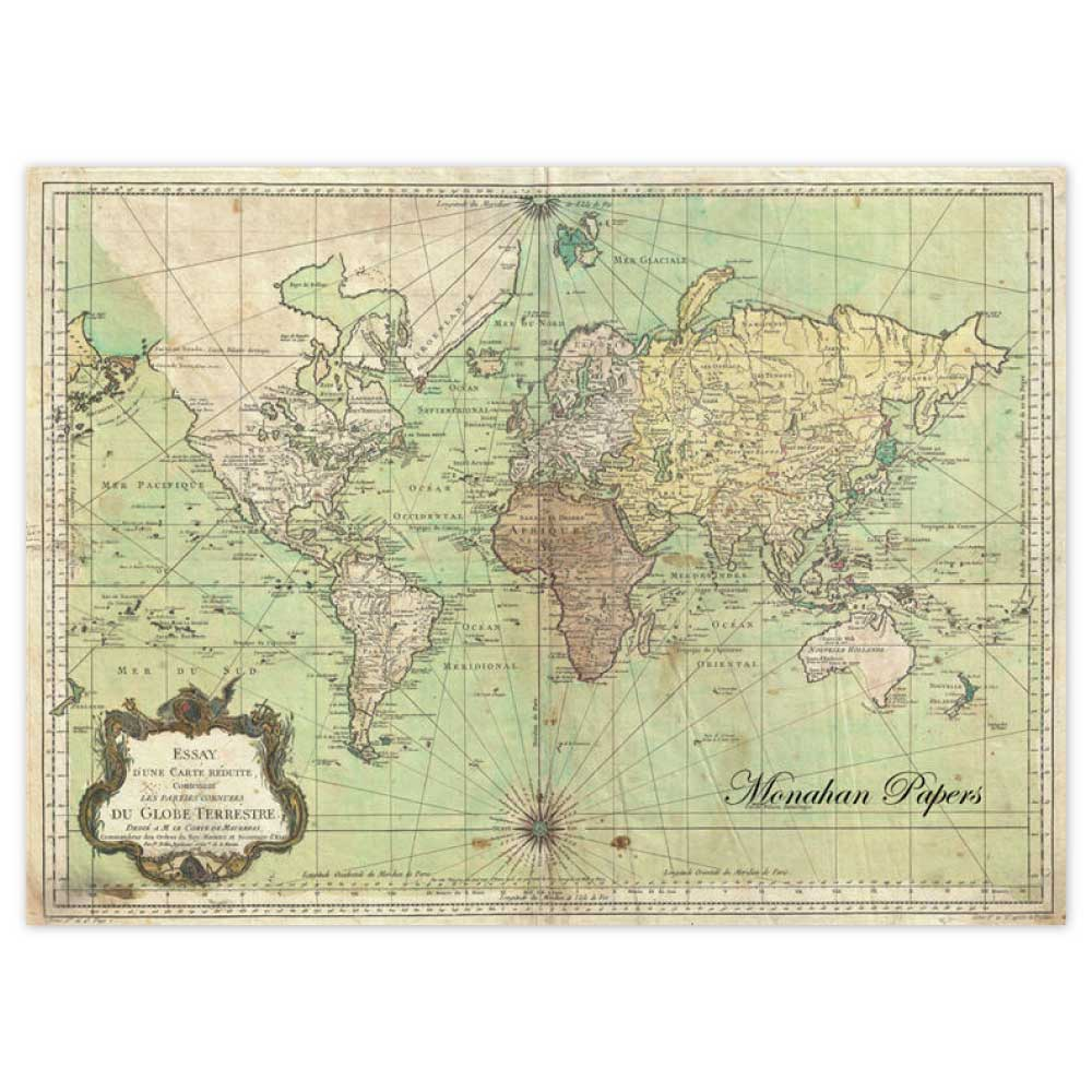 paper placemats a fresh approach to placemats - paper placemats nautical chart click to enlarge