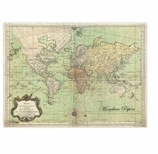 Paper Placemats Nautical Chart