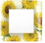 Paper Plates Dinner Sunflower