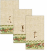 Personalized Hand Towels Winter Garden