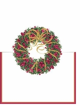 Place Cards Ribbon Wreath