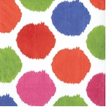 Polka Dot Party Supplies Bebelle Cocktail Napkins