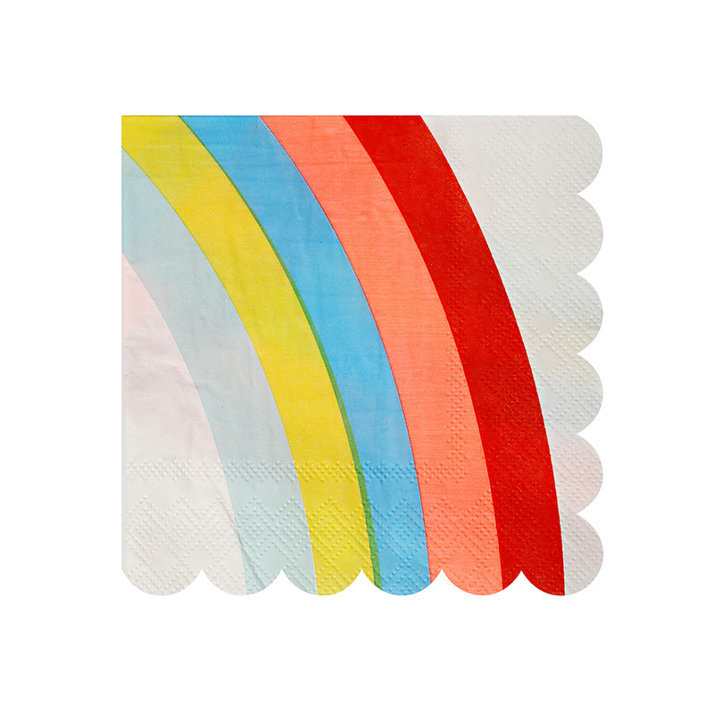 Rainbow Party Napkins  sc 1 st  Decorative Things & Rainbow Party Supplies Paper Plates u0026 Napkins