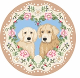 Round Kitchen Rugs Retrievers